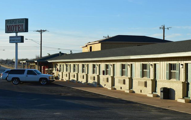 Purple Sage Motel Snyder - Free Parking